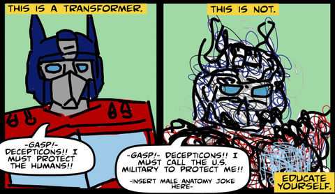Transformers By Michael Bay