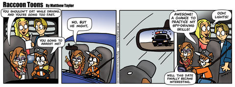 Caught Speeding
