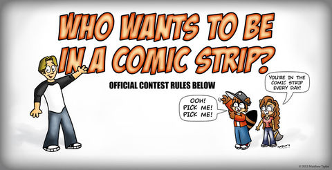 Want To Be In The Comic Strip?
